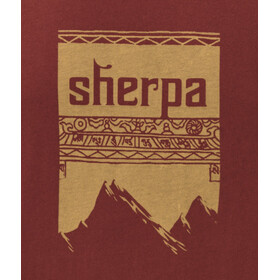 Sherpa Khangri - T-shirt manches courtes Homme - rouge
